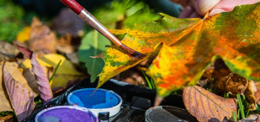 Dekoration im Herbst